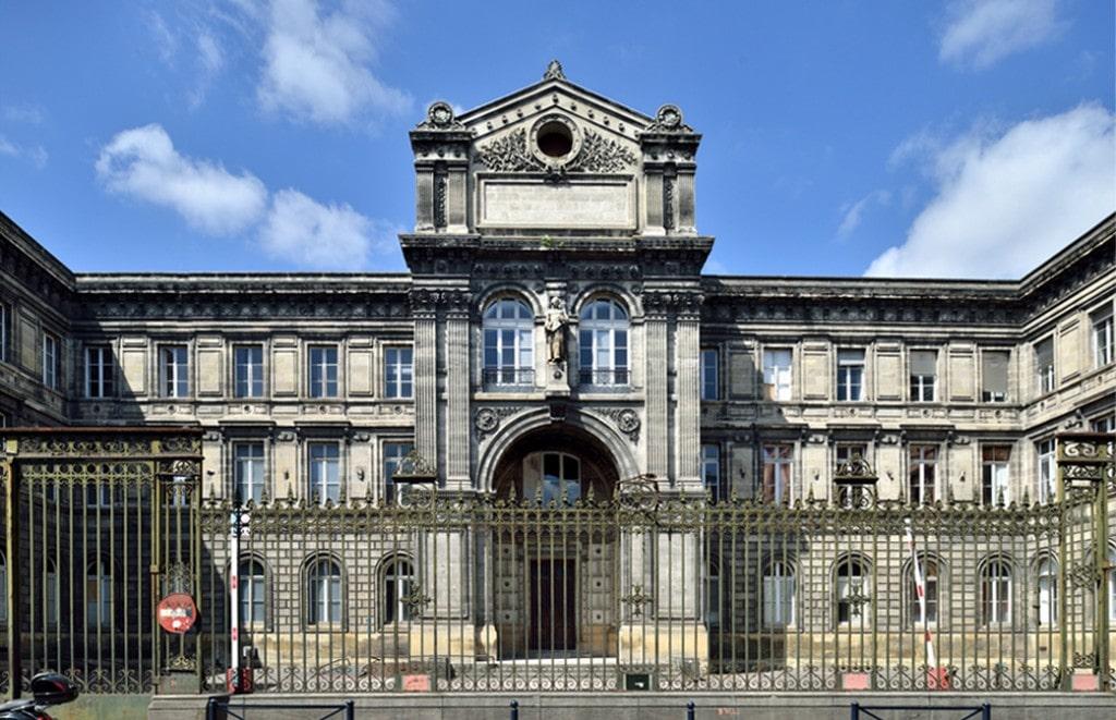 En images - façade extérieure bâtiment rue Castéja