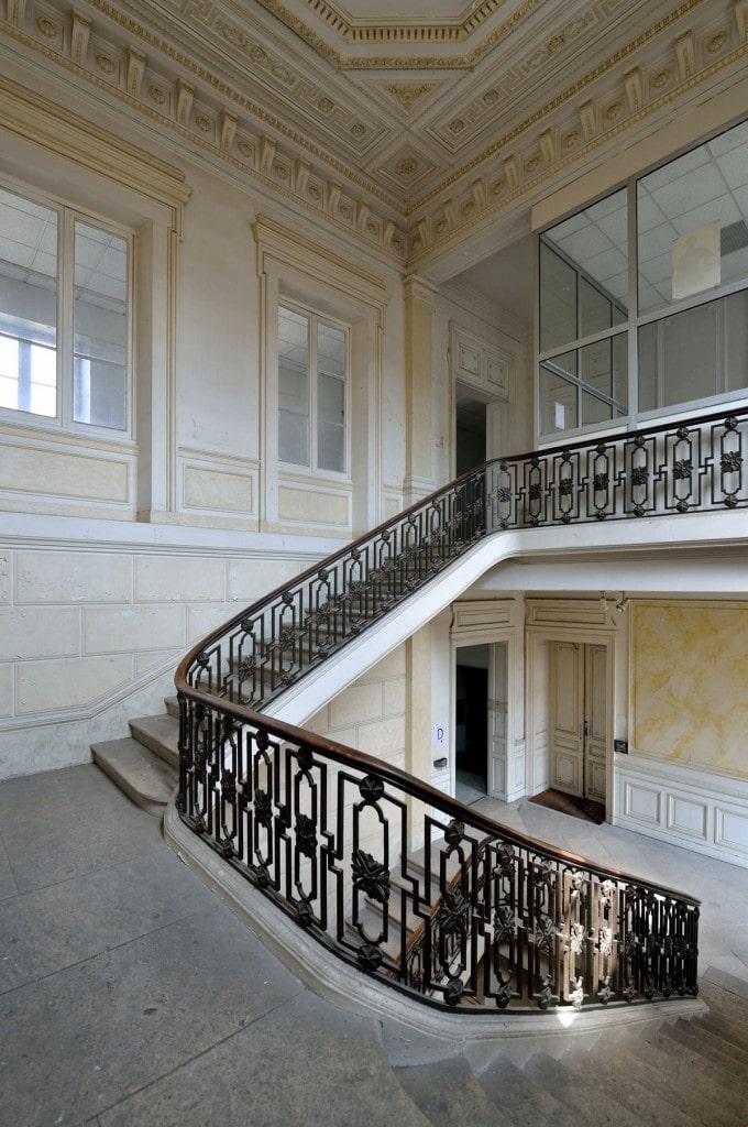 En images - vue escalier intérieur