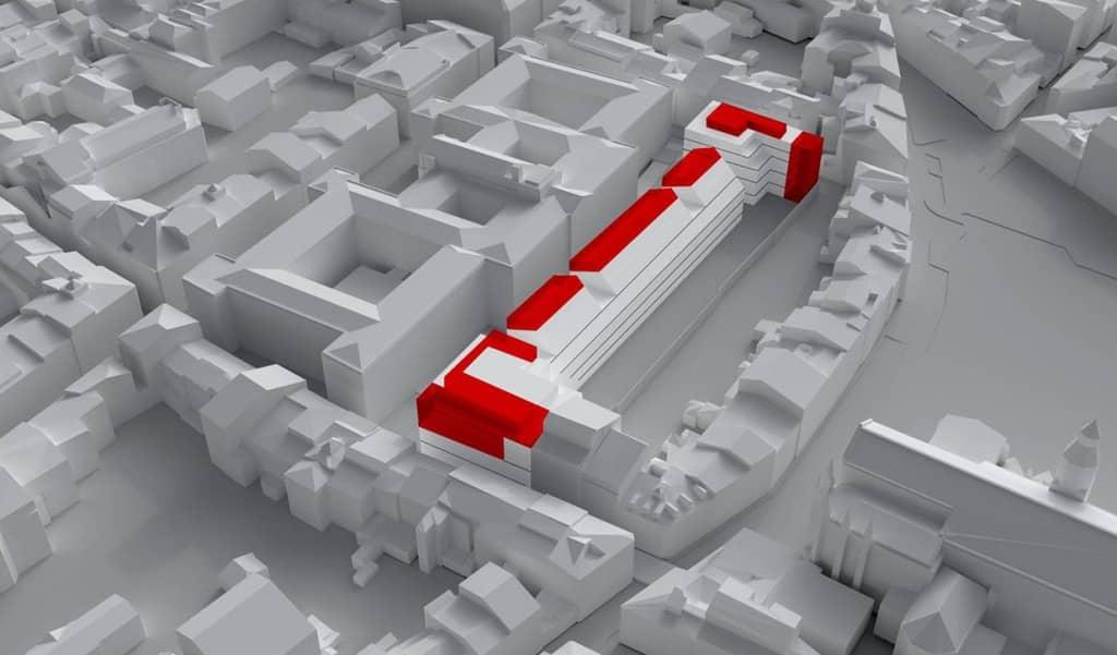 En images - plan de la maquette du projet